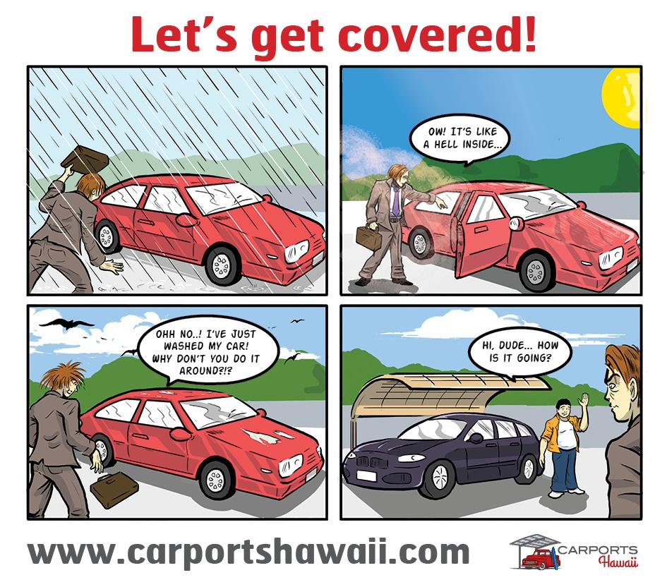 Why do you build a metal carport?