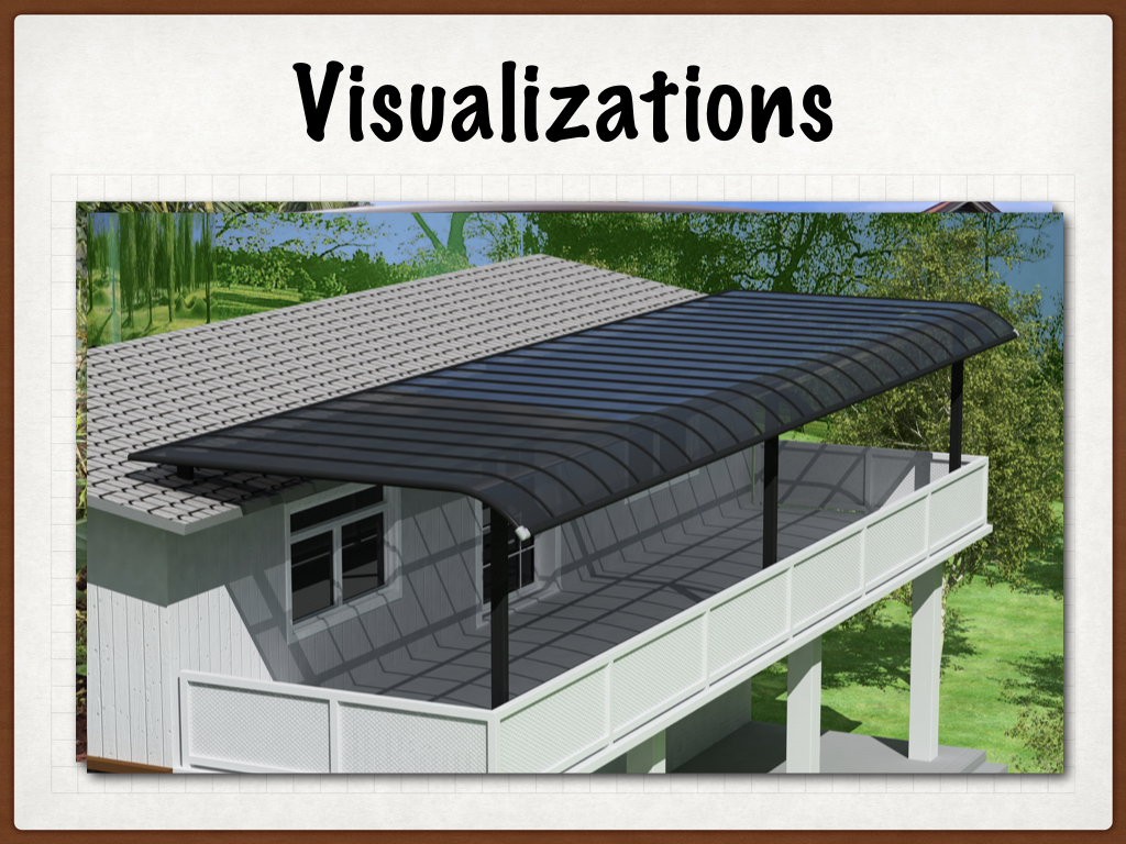carportshawaii.com aluminum and polycarbonate panels roof